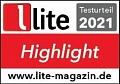 «Рекомендованная модель» по версии журнала Lite (Германия)